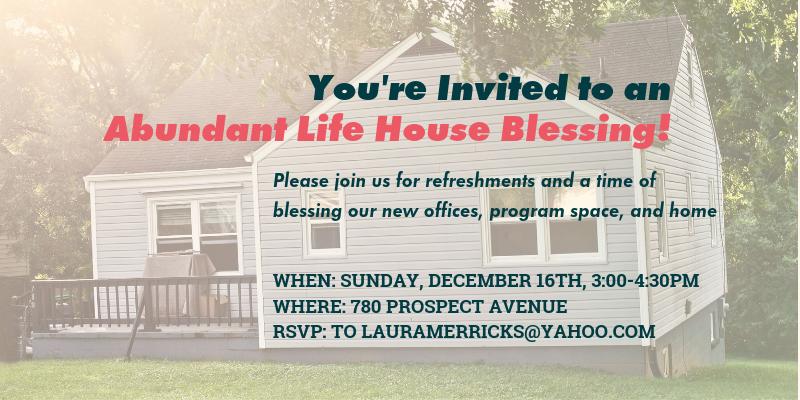 you re invited 780 prospect ave house blessing on 12 16 abundant